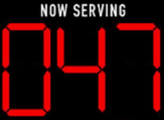 Now serving 047