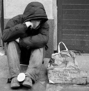 DEM homeless hungry