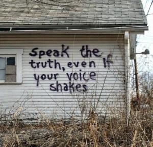 DEM speak the truth